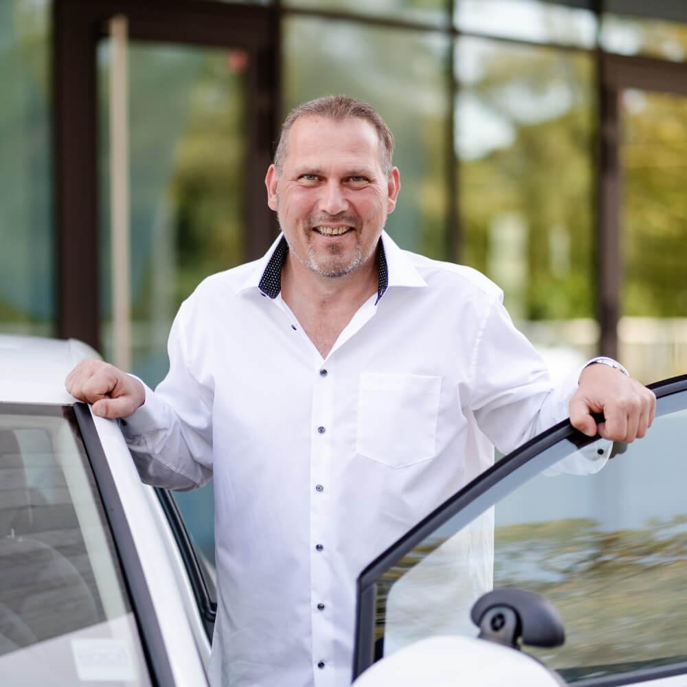 Fahrlehrer Thomas Böker