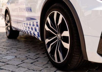 Reifen des VW Tiguan