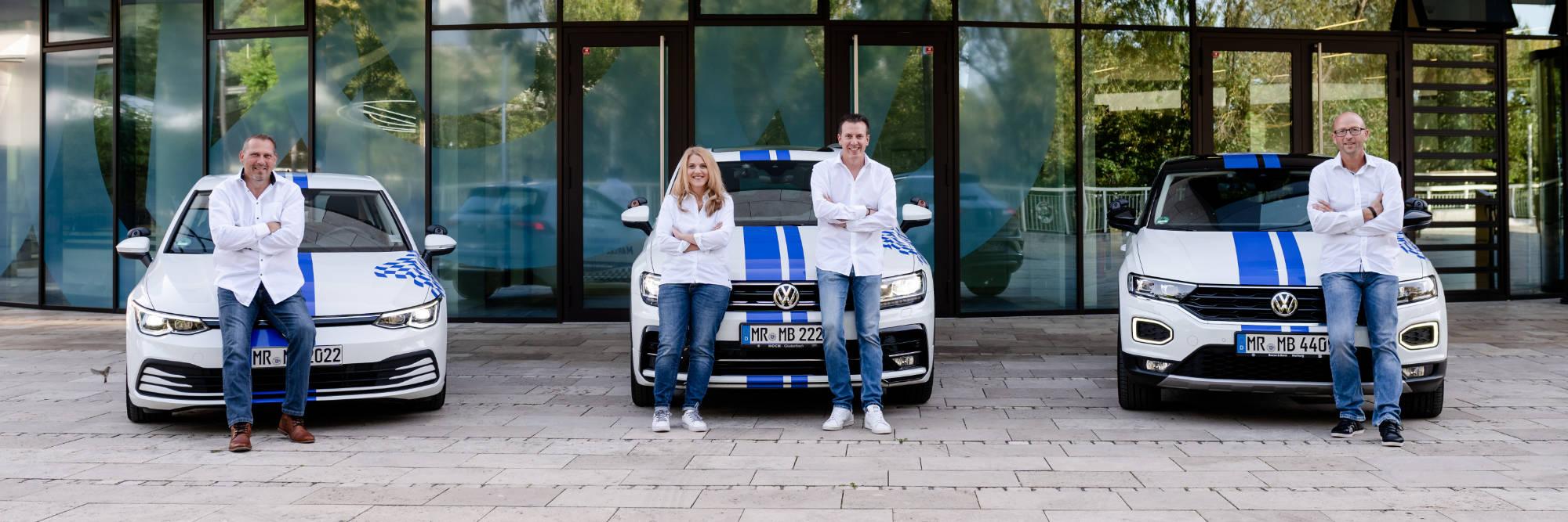 Team der Fahrschule Marcel Baumann aus Marburg